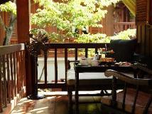 Burasari Heritage Luang Prabang: balcony/terrace