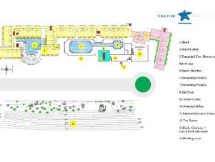 Seaview Patong Hotel Puketas - Aukštų planas
