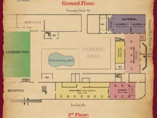 Saigon Morin Hotel Hue - Floor Plans