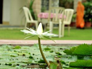 Hotel Jai Niwas Jaipur - Lotus Pond Front Garden
