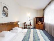 Comfort-værelse med 1 dobbeltseng eller 2 enkeltsenge