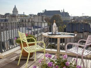Hotel Du Parc Saint-Severin Paris - Balcony/Terrace