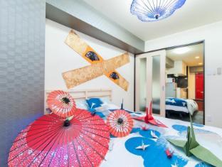K&K  F09 2 bedroom Apartment Shinsaibashi Namba 904