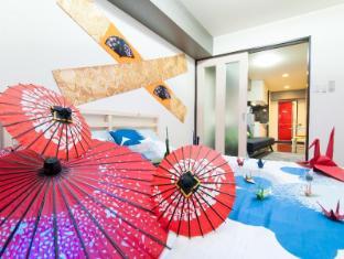 K&K  F06 2 bedroom Apartment Shinsaibashi Namba 803