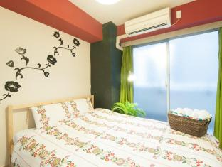 K&K  F04 2 bedroom Apartment Shinsaibashi Namba 403