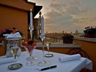 Hotel Concordia Rome - Balcony/Terrace
