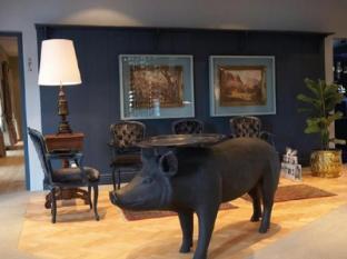 Majeka House Stellenbosch - Reception lobby