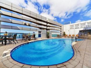 Al Manzel Hotel Apartments Abu Dhabi - Swimming Pool