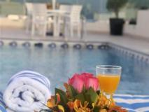Xclusive Hotel Apartments: swimming pool