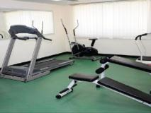 Al Hayat Hotel Apartments: fitness room