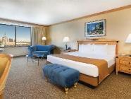 Soba Indigo, 1 velika zakonska postelja - za nekadilce