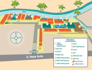 HARRIS Hotel & Residences Riverview Kuta Bali - Ground Floor Plan (Hotel Area)