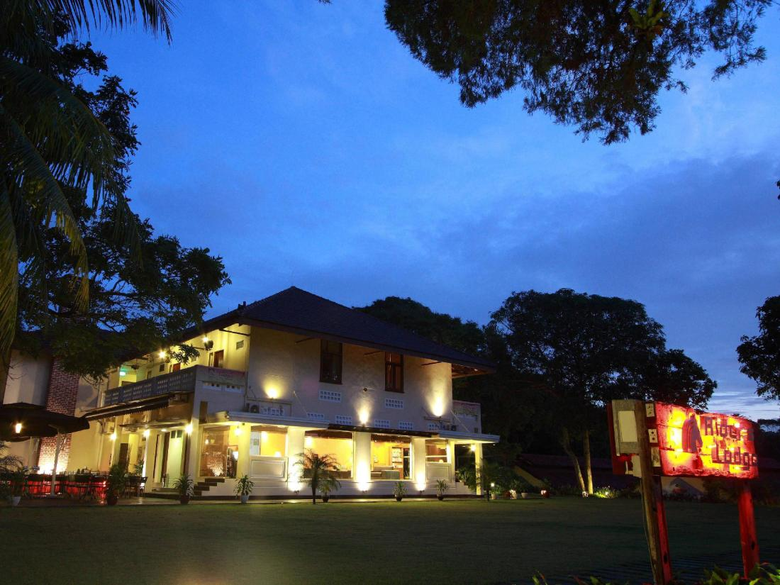 Hotel Exterior (Night)