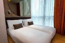 City Δίκλινο Δωμάτιο με 2 Μονά Κρεβάτια