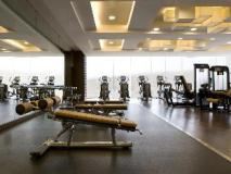 Hong Kong SkyCity Marriott Hotel: fitness room