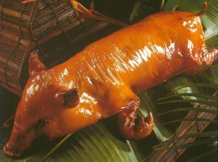 Rumah Bali Bed & Breakfast Bali - Roasted Suckling Pig