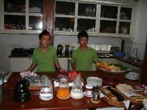 Villa Chitdara: buffet