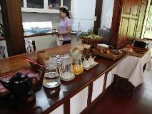 Villa Chitdara: restaurant