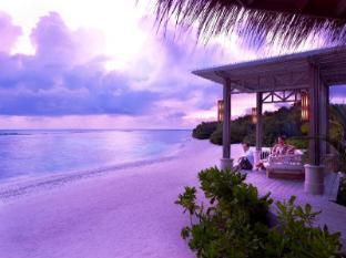 Shangri-La's Villingili Resort & Spa Maldives Islands - Fashala Lounge at the Sunset