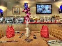 Al Diar Palm Hotel Apartments: restaurant