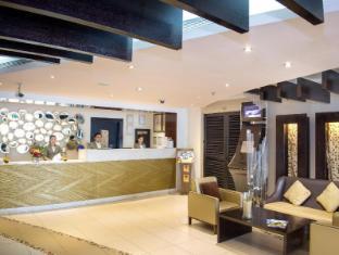 Al Waleed Palace Hotel Apartments Bur Dubai Dubai - Receptie
