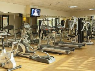 Al Waleed Palace Hotel Apartments Bur Dubai Dubai - Fitnessruimte