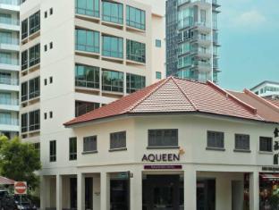 Aqueen Hotel Balestier Singapur - Entrada