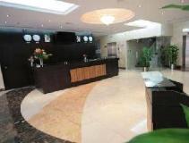 Rose Garden Hotel Apartments Al Barsha: reception