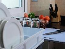 Rose Garden Hotel Apartments Al Barsha: kitchen