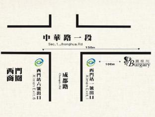 Burgary Hotel Taipei - Mappa