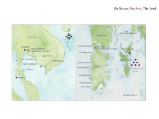 Six Senses Yao Noi फुकेत - मानचित्र