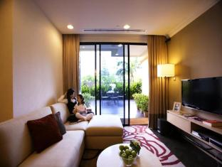 Fraser Suites Singapore Singapore - Three Bedroom Terrace - Living Room
