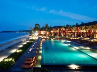 Hansar Samui Resort Samui - Beach and Swimming Pool - Night View