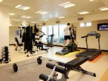 Avari Barsha Hotel Apartments: fitness room