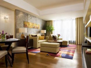 The Sandalwood Beijing Marriott Executive Apartments Beijing - One Bedroom Living Area