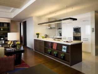 The Sandalwood Beijing Marriott Executive Apartments Beijing - Two Bedroom Fully Equipped Kitchen