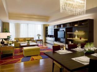The Sandalwood Beijing Marriott Executive Apartments Beijing - Three Bedroom Living Area