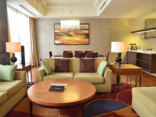 The Sandalwood Beijing Marriott Executive Apartments Beijing - Living room