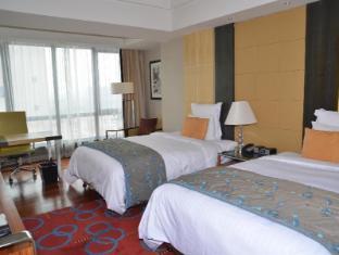 The Sandalwood Beijing Marriott Executive Apartments Beijing - Twin bed one bedroom toward South