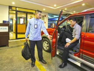 Fersal Hotel Annapolis, Cubao Manila - Welcome Arrival