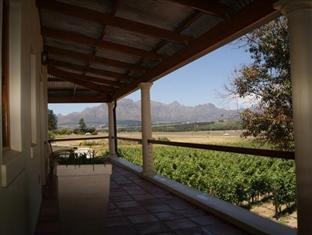 LovanE Boutique Wine Estate and Guest House Stellenbosch - Terrace View
