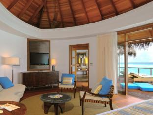 Constance Halaveli Maldives Islands - Water Villa  Living Area