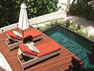 Constance Halaveli Maldives Islands - Beach Villa - Sun Deck and Pool