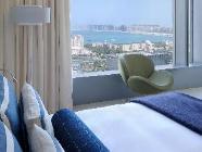 Hip vip szoba, kilátással Palmra