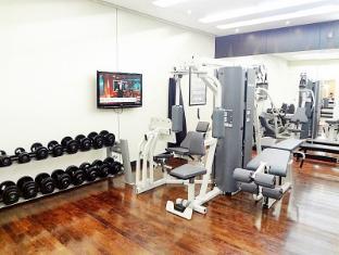 Dubai International Airport Hotel Dubai - Fitnessruimte