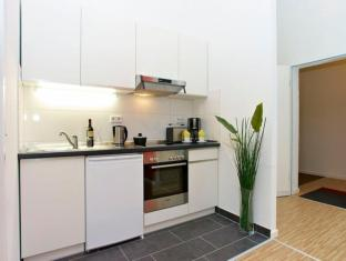 A & B Apartment & Boardinghouse Berlin Berlin - Kuhinja