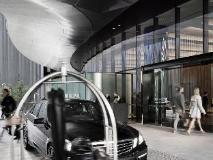Crown Metropol Hotel: entrance