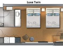 Crown Metropol Hotel: floor plans