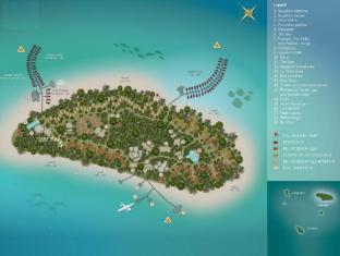 The Sun Siyam Iru Fushi Luxury Resort Maldives Islands - Floor Plans