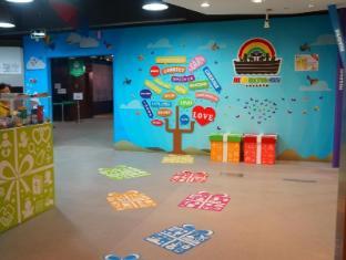 Noah's Ark Resort Hong Kong - Exhibition hall inside